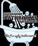 Bathrooms Bathrooms Bathrooms Logo